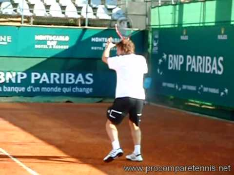 Gulbis Slow Motion Forehand (210fps)