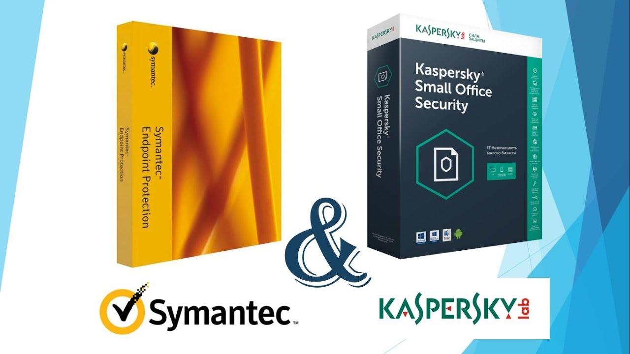 Kết quả hình ảnh cho symantec endpoint protection or kaspersky antivirus