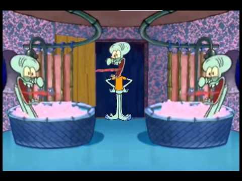 Double Squidward Drops In Squidward House Spongebob Squarepants