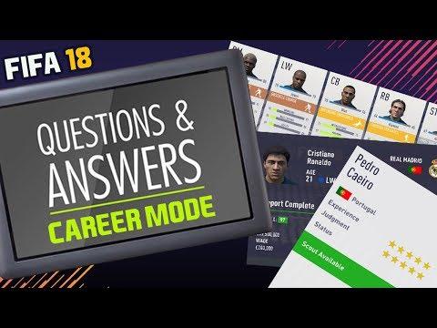 FIFA 18 Career Mode Q&A