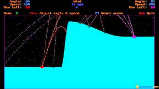 EGA Bomb gameplay (PC Game, 1988)