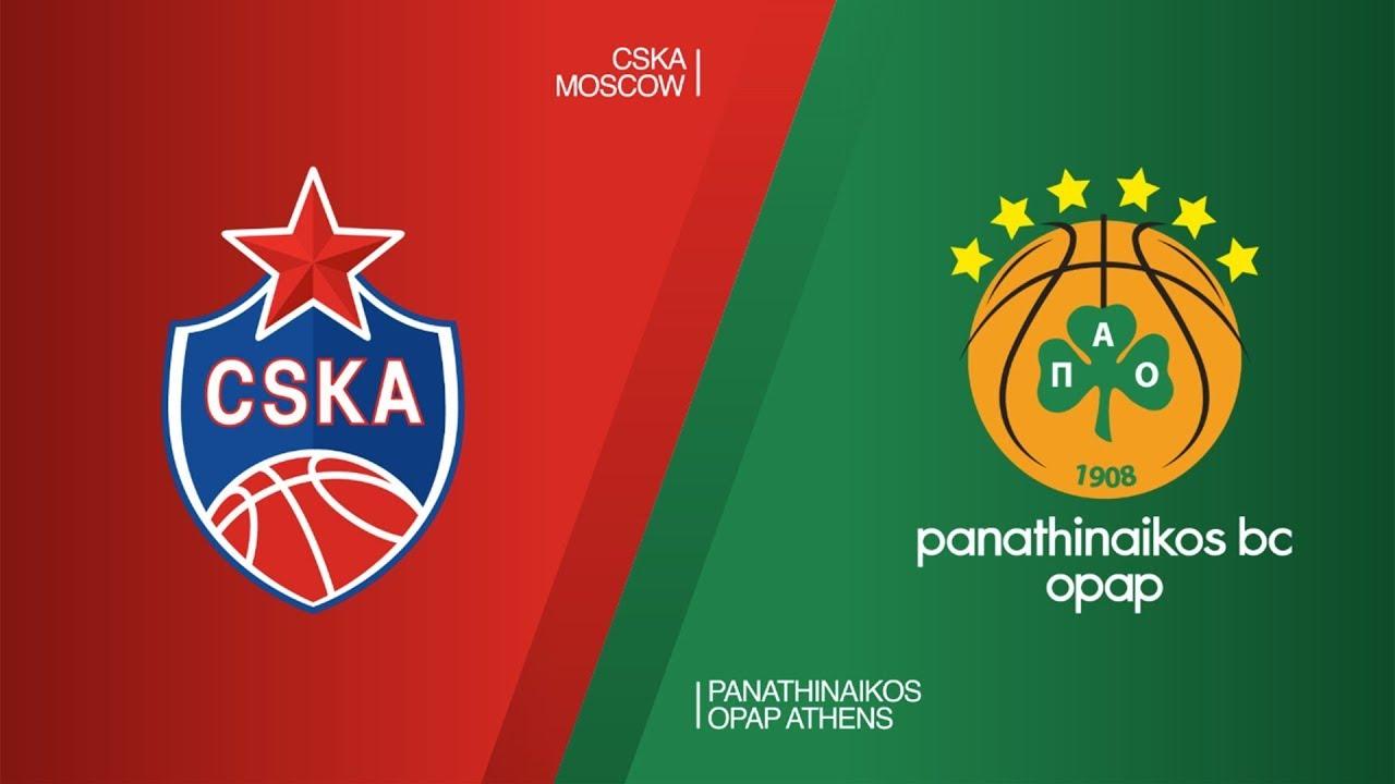 Full Match HD CSKA Moscow 77-78 Panathinaikos Round 26
