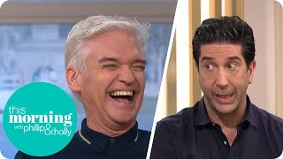David Schwimmer Finds Out Phillip Was On Friends | This Morning