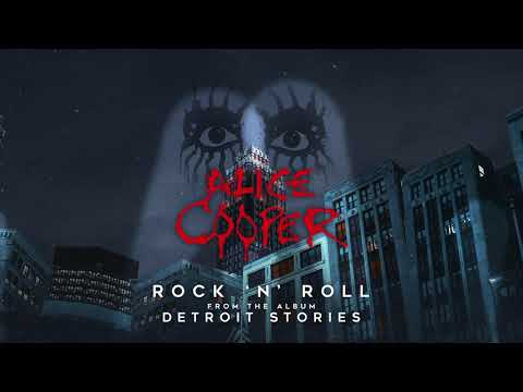 """Alice Cooper """"Rock & Roll"""" - Official Visualizer - New album DETROIT STORIES out February 26"""