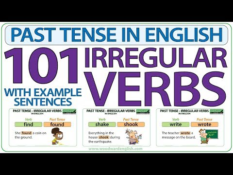 101 Irregular Verbs - Past Tense in English from YouTube · Duration:  17 minutes 43 seconds