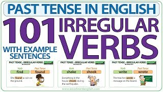 101 Irregular Verbs - Past Tense in English