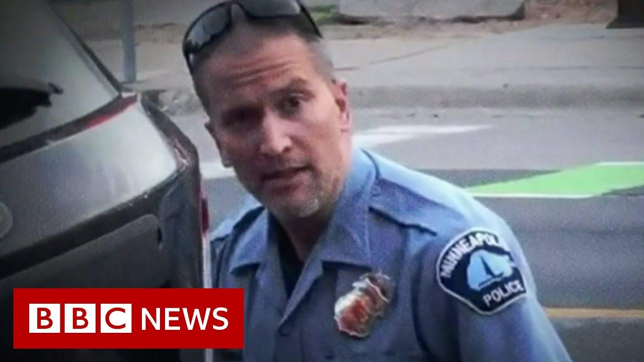 Trial begins of ex-officer Derek Chauvin accused of murder of George Floyd - BBC News