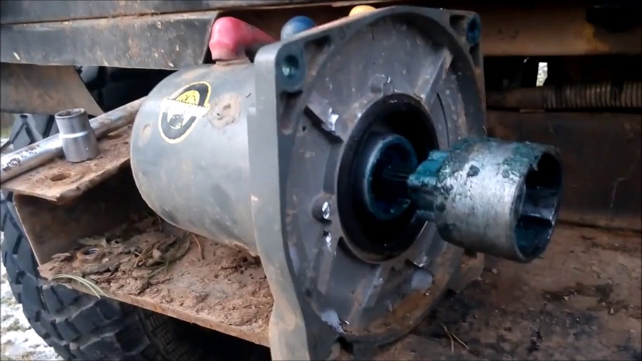 Поломка и ремонт лебедки на УАЗе