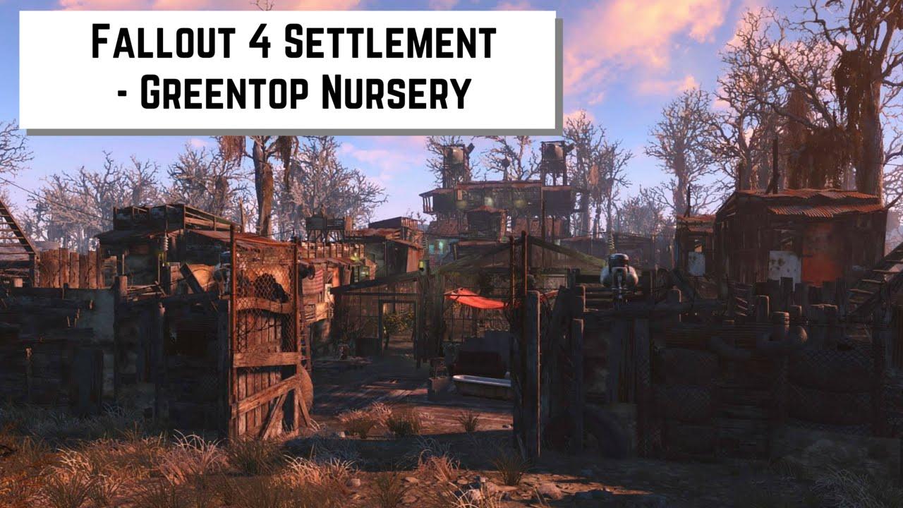fallout 4 settlement - greentop