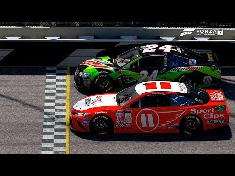 0 001!!! PHOTO FINISH! | Forza Motorsport 7 | NASCAR