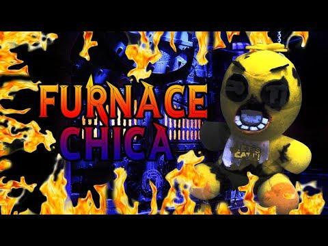 FNAF Plush - Furnace Chica!!!`