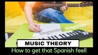 How to get that Spanish or Latin Feel in Your Music!