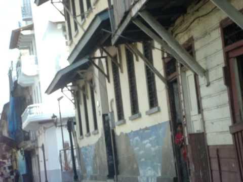 PANAMÁ CIUDAD ZONA COLONIAL PANAMA OLD CITY AREA
