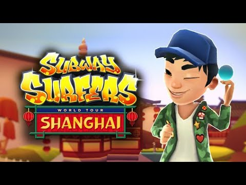 Subway Surfers Shanghai in Full HD