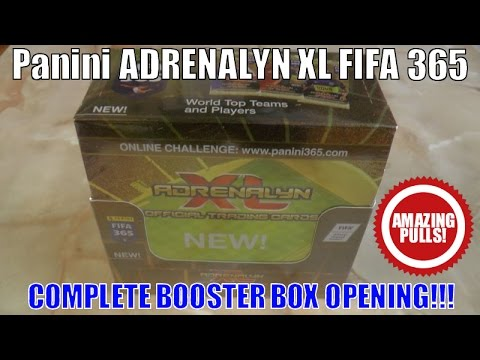 █▬█ █ ▀█▀  ⚽️ UNBOXING BOOSTER BOX ⚽️ Panini FIFA 365 Adrenalyn XL™ Official Trading Card Game (UK)