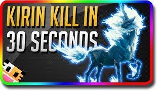 "Monster Hunter World - ""April Fools Day"" 30 SECOND KIRIN KILL (Monster Hunter World Gameplay)"
