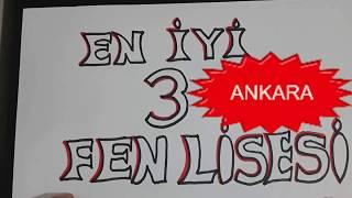 Ankara'nın en iyi 3 fen lisesi hangisi? İşte popüler 3 lise