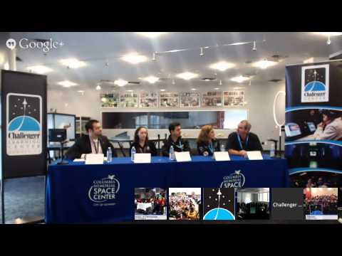 Hangout On Air with Virgin Galactic and Galactic Unite
