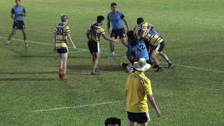 ISKL B vs GIS rugby 7s ISAC Dec 4 Full Game - CLIP 1