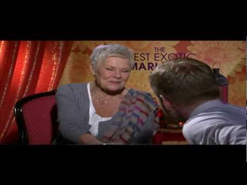 Judi Dench, Tom Wilkinson and Penelope Wilton Interview for THE BEST EXOTIC MARIGOLD HOTEL