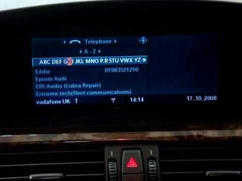 Ipod And Bluetooth For Bmw I Drive System Mobridge Www Mobridge Ipod Co Uk Youtube