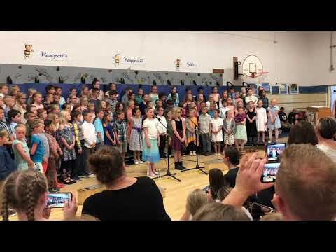 Ava's Solo at the Spring School Concert