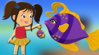 Machli Jal Ki Rani Hai | Hindi Nursery Rhyme | Songs For Children | Hindi Poems | मछली जल की रानी है