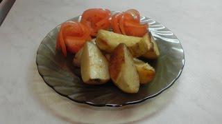 #КАРТОФЕЛЬ по-деревенски #Рецепт. Картошка, запеченная в духовке!