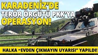 Giresun'da PKK'lı Teröristler Kıskaca Alındı