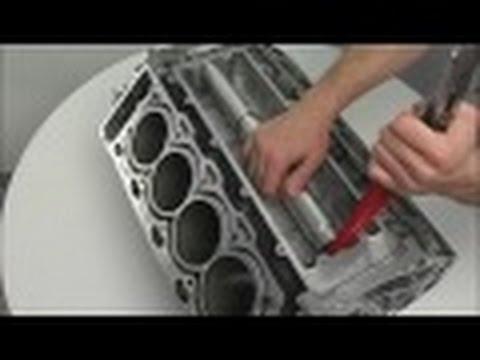 BMW N62 Замена Телескопич. подводящей трубки системы охлаждения в развале блока цилиндров