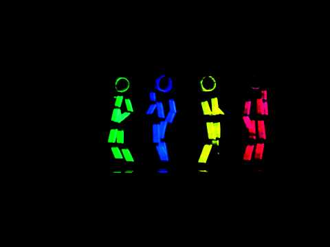 Glow Stick Figure Dance
