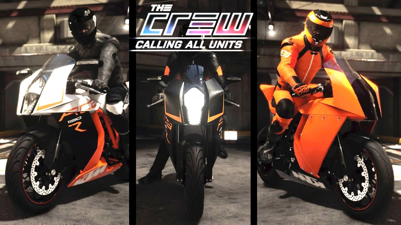 the crew calling all units ktm 1190 rc8 r youtube. Black Bedroom Furniture Sets. Home Design Ideas