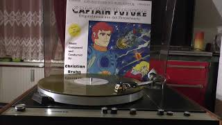 VINYL HQ CHRISTIAN BRUHN Captain Future Hurra wir fliegen SOVIET RUSSIAN ELEKTRONIKA b1-01 table