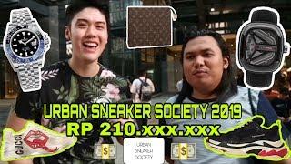 #k Ask(13) Main2 Ke Event Urban Sneaker Society 2019, Ketemu Sultan Dengan Outfit Brutal!!! Mahal!!!