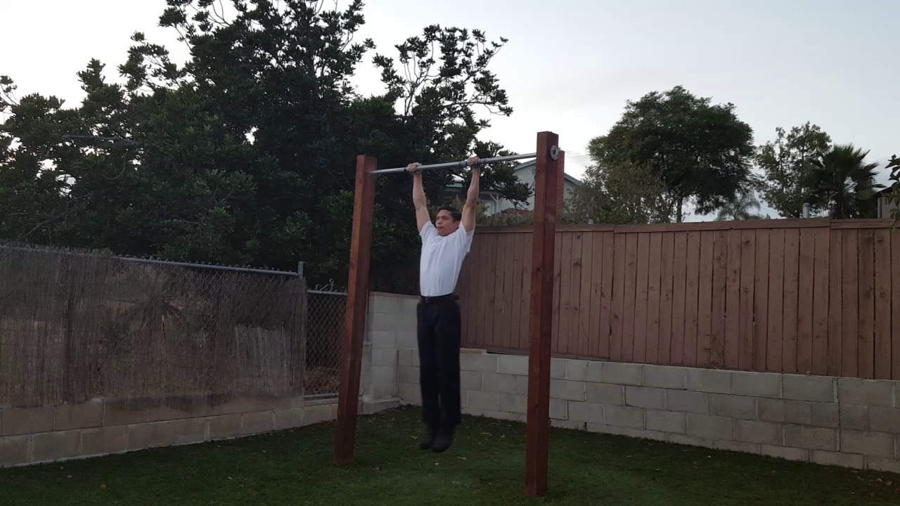 10 clean muscle ups to 10 bar dips to 15 full range of motion pull