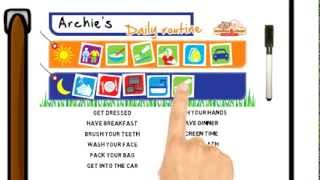 Kids Daily Routine Chart - Monkey & Chops Behavior Charts