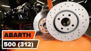 Combination Rearlight Bulb change on ABARTH 500 / 595 (312_) - video instructions