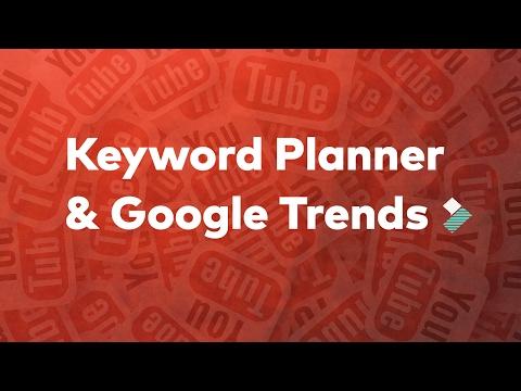 How To Use Keyword Planner & Google Trends - Ep 10: Filmora.io YouTube Marketing Masterclass - 동영상
