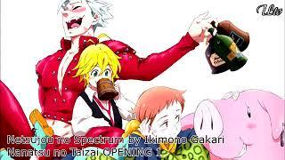 Música do final do anime ( Sete pecados capitais )
