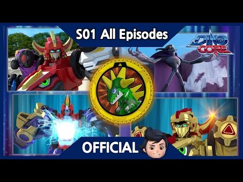 [DinoCore] Series | It's world domination, one pizza at time. | Dinosaur Robot | Season 1 EP01~13