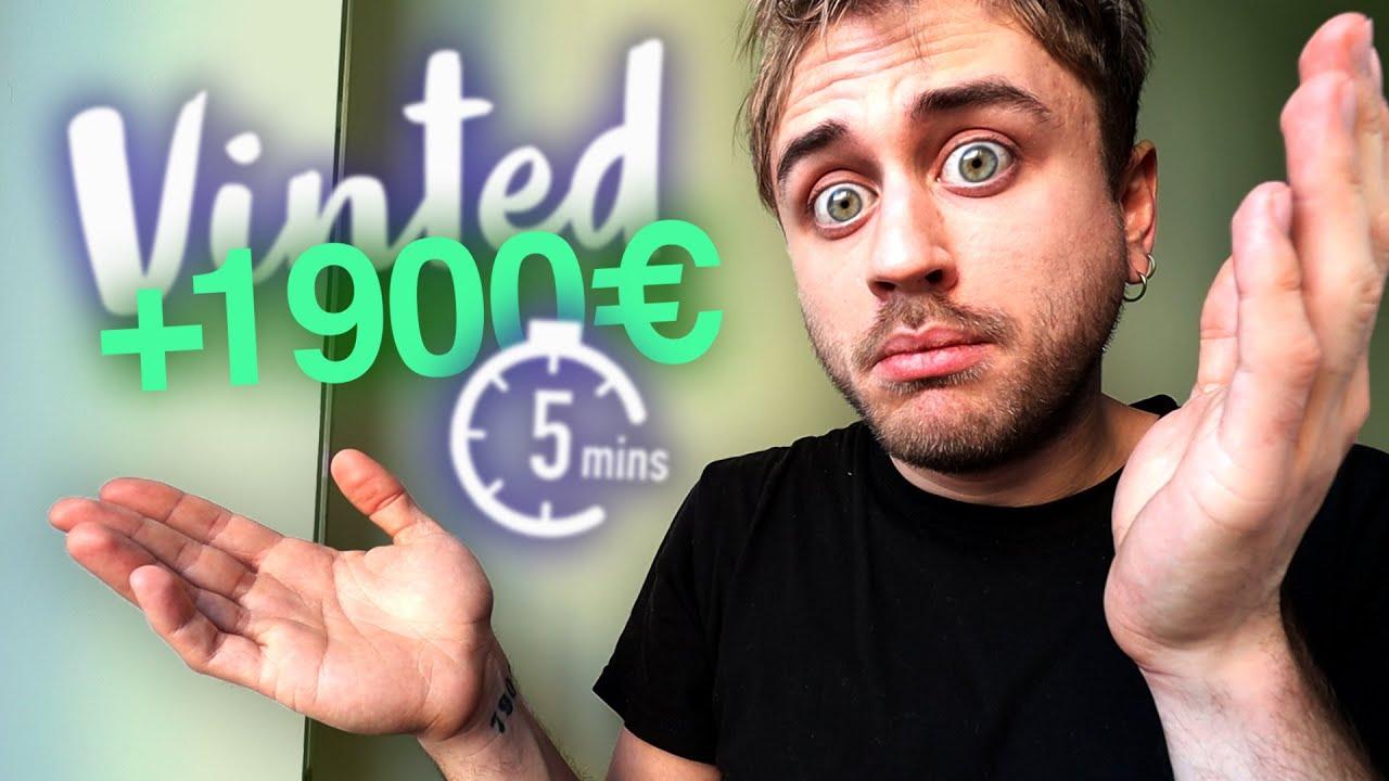 J'ai GAGNÉ 1900€ en 5 MINUTES sur VINTED (no fake mdr)
