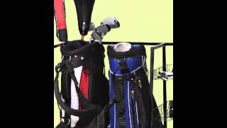 Golf Organizer And Storage Rack