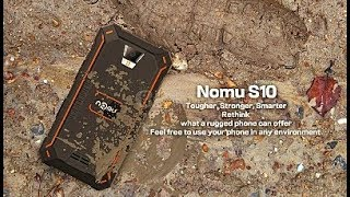 Unbox Nomu S10 EL CELULAR MAS FUERTE IP68