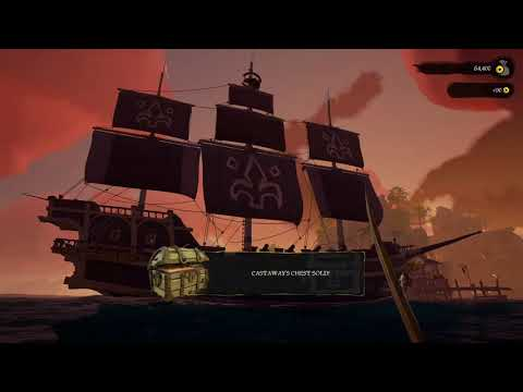 SoT - Sea of Thieves Sovereign Hull + Sails + Figurehead (Set Complete) [Full View]