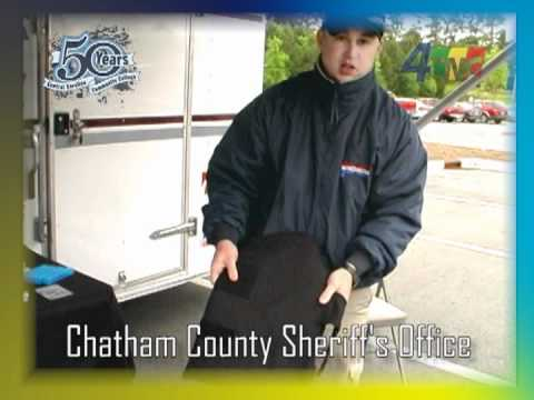 Chatham County Sheriff at 50th Anniversary Celebration of Central Carolina Community College