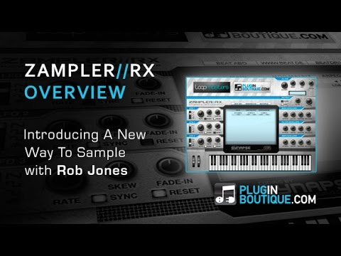 Zampler RX Free Edition Soft Sampler - Tour & Review - With Rob Jones