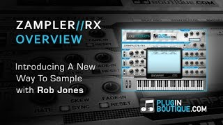 Zampler RX Free Edition Soft Sampler - Tour Review - With Rob Jones