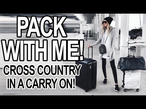 PACK WITH ME: ONE WEEK IN A CARRY ON!