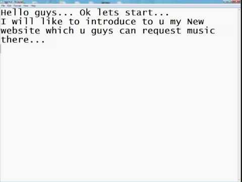 Request Free Music @ musicrequest.nl.ae