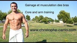 gainage et musculation par christophe carrio
